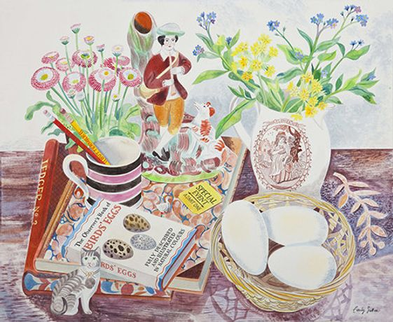 Emily Sutton, Still Life with Eggs