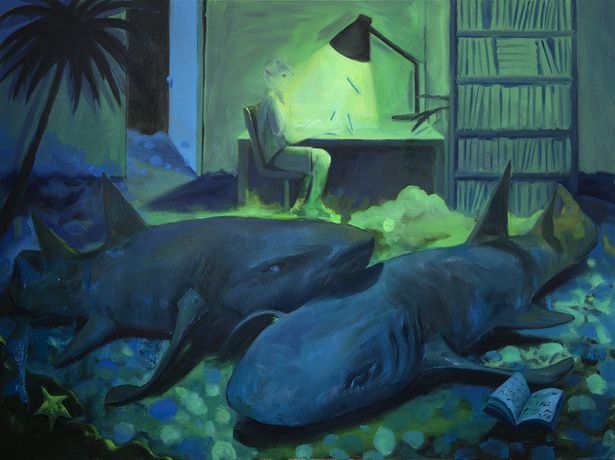 Minyoung Choi, 'Sleeping Sharks', 2018