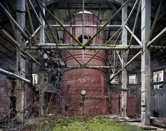 Yves Marchand and Romain Meffre, Boiler Room, Chemical Factory, Eilenburg, Germany, 2007