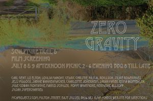 Zero Gravity - Film Screening and Sculpture Trail