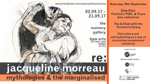 ZINE FAIR at Re: Jacqueline Morreau Mythologies and the Marginalised