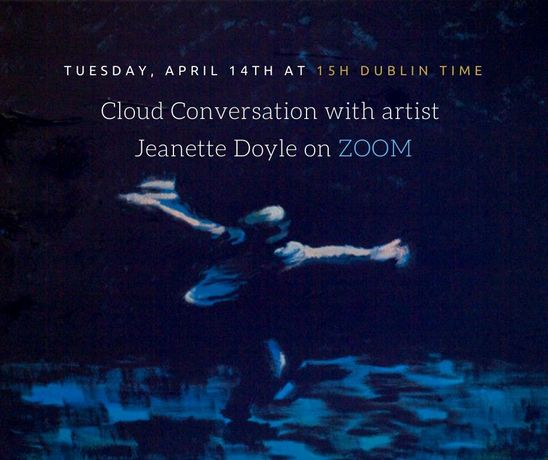 Cloud Conversation on ZOOM with artist Jeanette Doyle