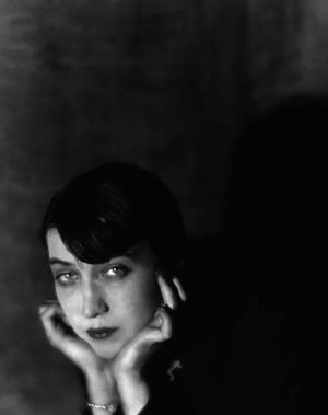 Man Ray, Portrait of Berenice Abbott, 1925. Collection Hank O'Neal, New York. © Man Ray Trust / ADAGP Paris 2011