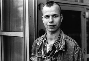 Wolfgang Tillmans in the 1990's, by Stuart Mentiply