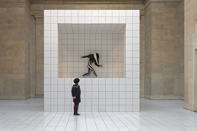 Anthea Hamilton, The Squash, 2018, installation view. Photo: Matt Greenwood. Courtesy of Tate.
