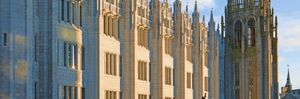 Marischal College, University of Aberdeen, Scotland. Courtesy of VisitAberdeenshire.