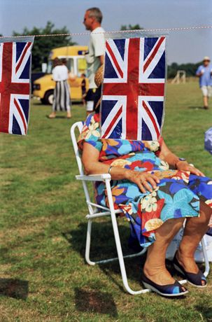 Sedlescombe, England, Martin Parr, colour photography, 1995-1999.