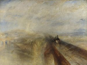 J. M. W. Turner: Rain, Steam, Speed, 1844