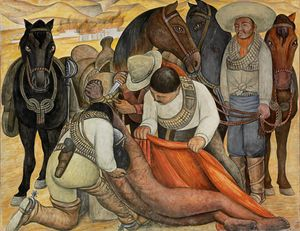 Diego Rivera,Liberation of the Peon (1931)