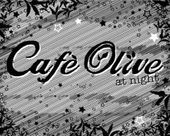 Cafe Olive at Night logo