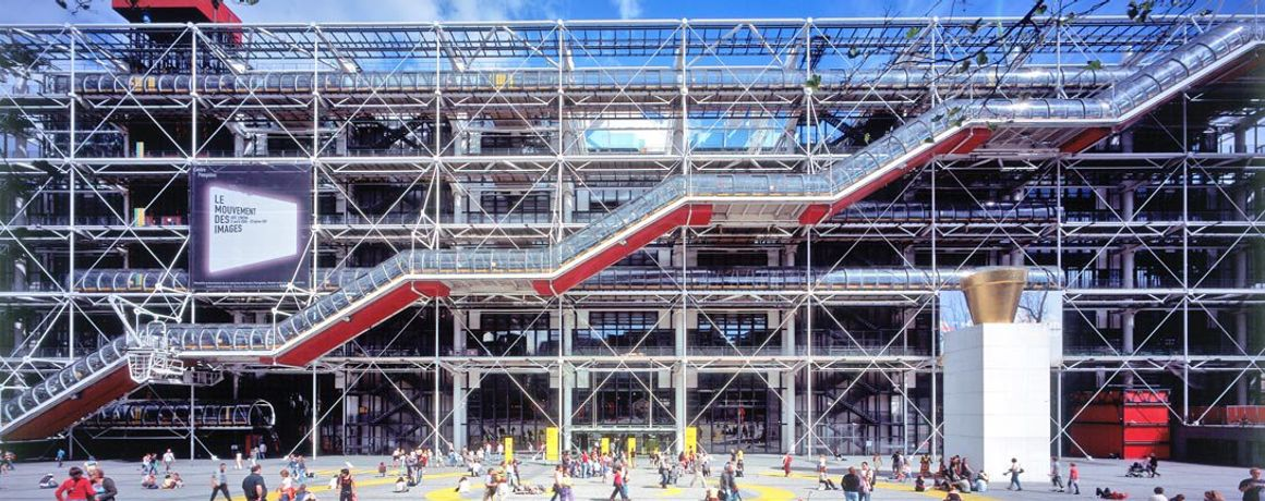 the centre pompidou paris