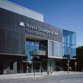Royal College of Art, Dyson Building logo
